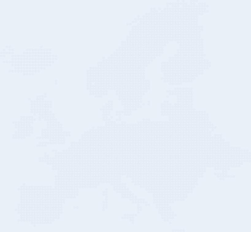 Danfluvial destinations map